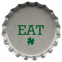 St. Patrick's Day Bottle Cap Icons3 by printplacetexas
