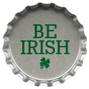 St. Patrick's Day Bottle Cap Icons5 by printplacetexas