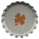 St. Patrick's Day Bottle Cap Icons6 by printplacetexas