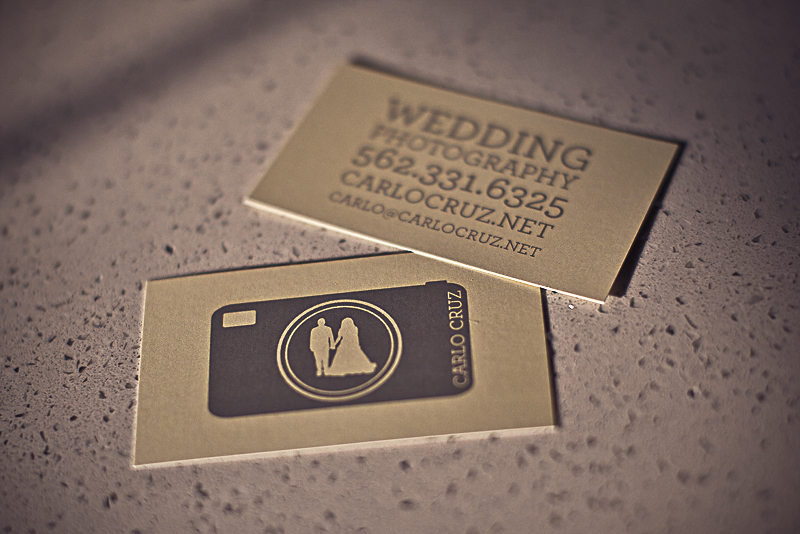 Wedding Photography Business Card by printplacetexas