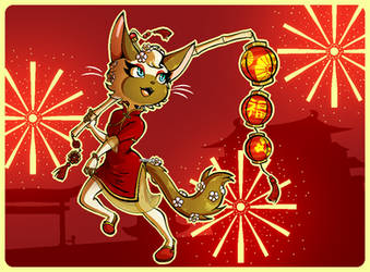 Lunar New Year! by Myeecez