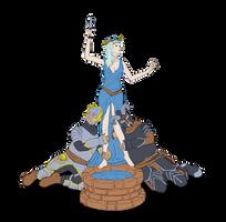 DEJ2021 10 Goddess Eldath by JuliaMersmann