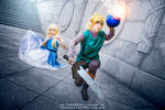 Link and Zelda | A LINK TO THE PAST by caaphotomagazine
