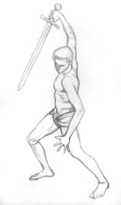Sketch Warrior1