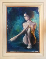 The Muse - Framed by FyreBirdi