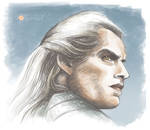 The White Wolf - colour