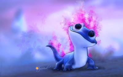 Bruni the Fire spirit from Frozen II