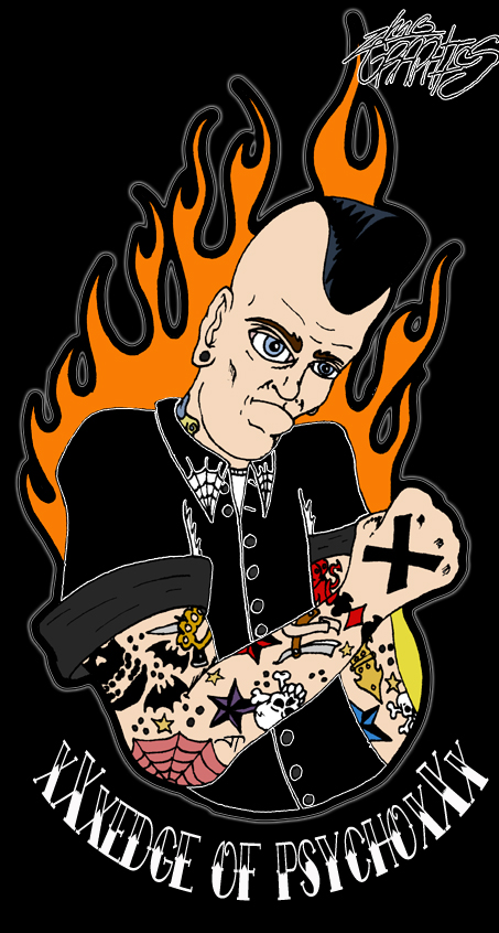 Staight Edge Psychobilly by ZMBGraphics on DeviantArt