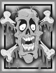 Zombie head by ZMBGraphics