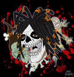 Voodoo Bloody Voodo by ZMBGraphics