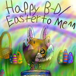 happy birthday/ Easter to me