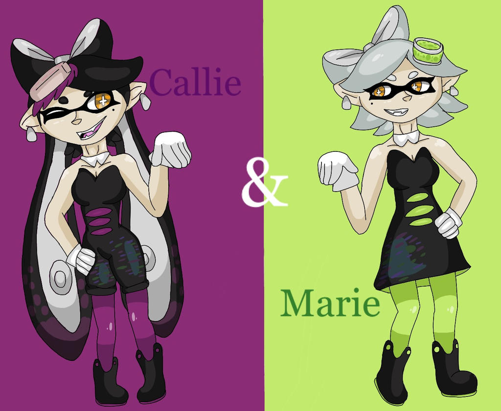Callie And Marie Wallpaper: Callie And Marie By Spottedspeckle6464 On DeviantArt