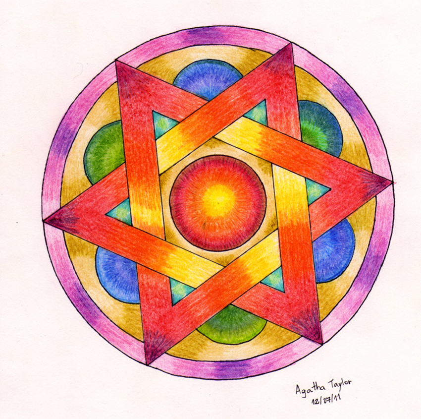 Colorful Mandala By Agataylor On Deviantart