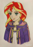 Sunset Shimmer, Fiery Tactician by MetalAmethyst
