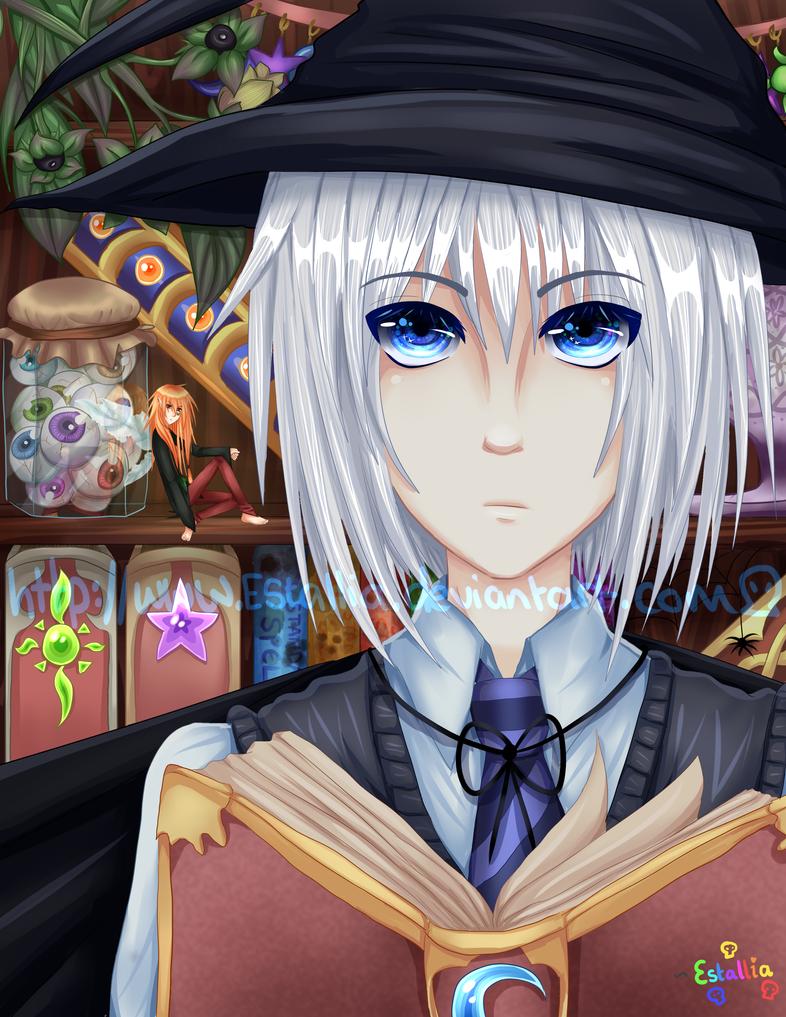 Studying Sorcery by Estallia
