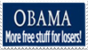 Obama stamp by zaiger420