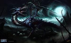Zombie Dragon by feintbellt