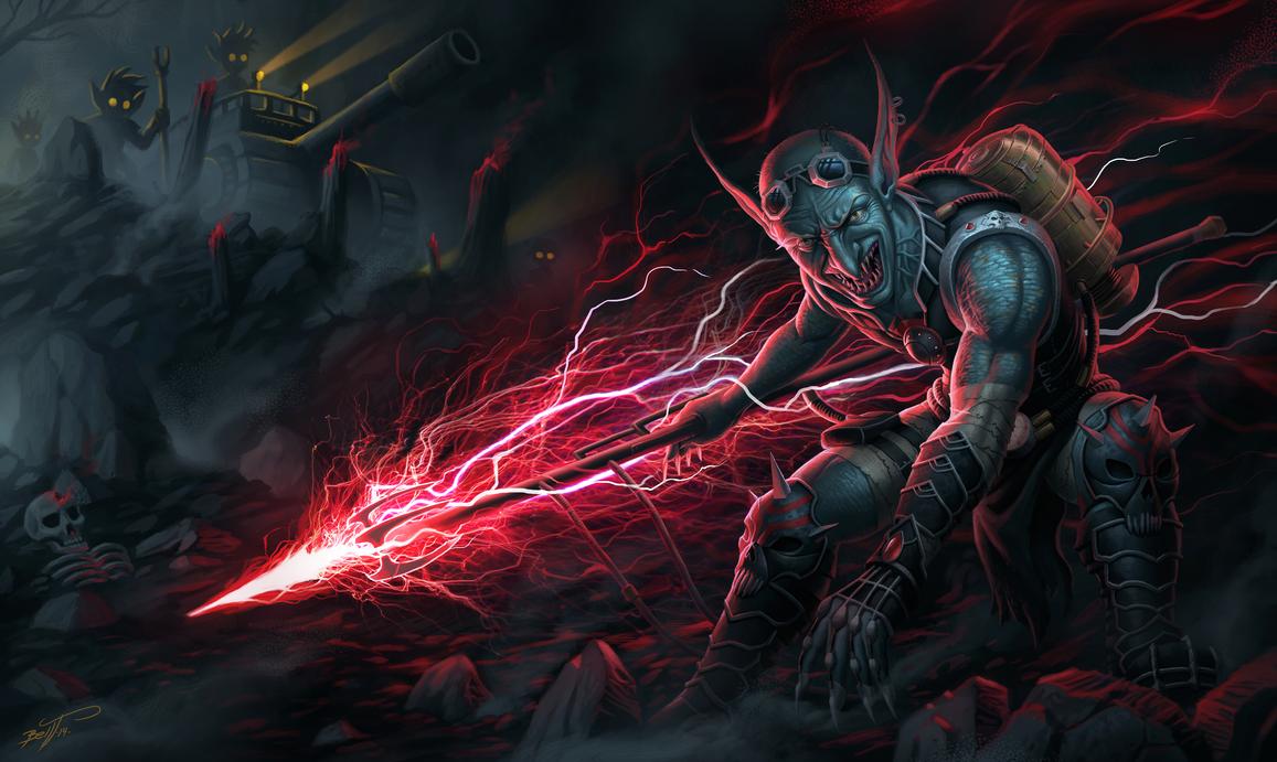 Death ray Goblin by feintbellt
