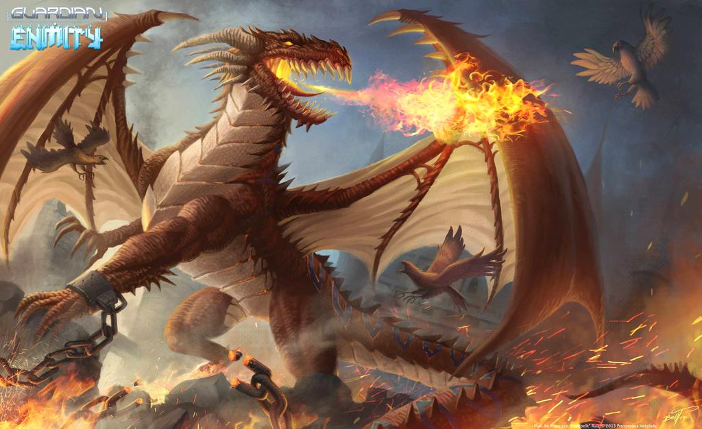 Edom - Blaze Dragon by feintbellt