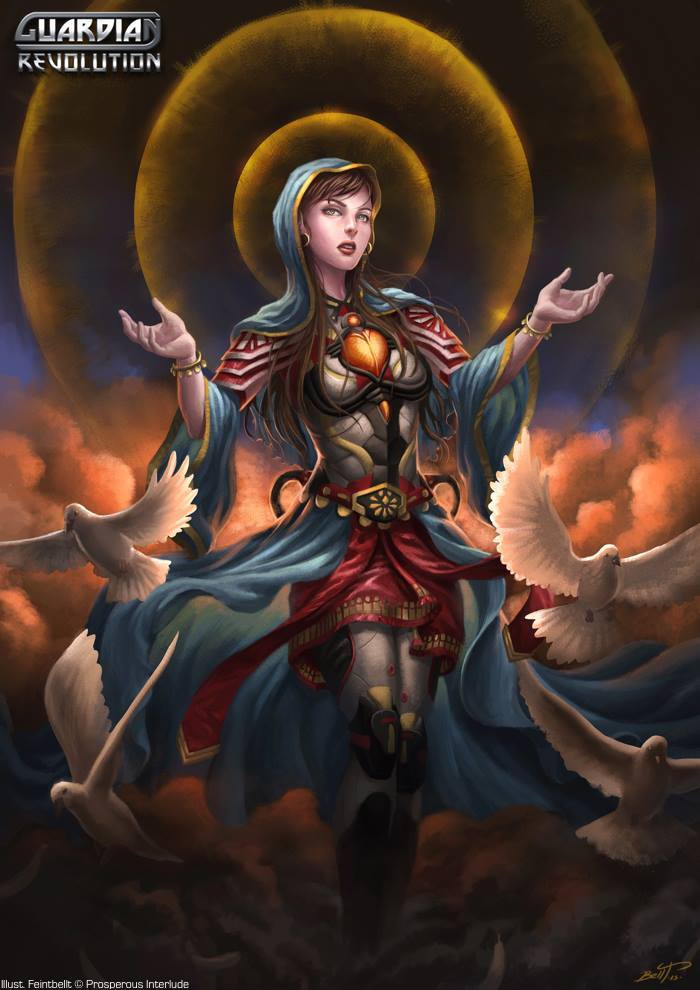 Warrior of Blessing, Maria by feintbellt
