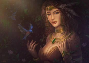 Mother Gaia by feintbellt