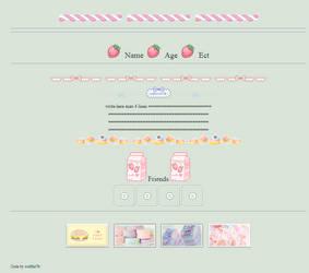 cute pastel food custom box f2u by wolftie76