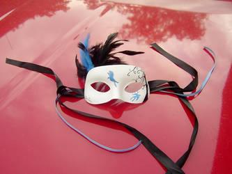 Bluebird Mask by pyraptor