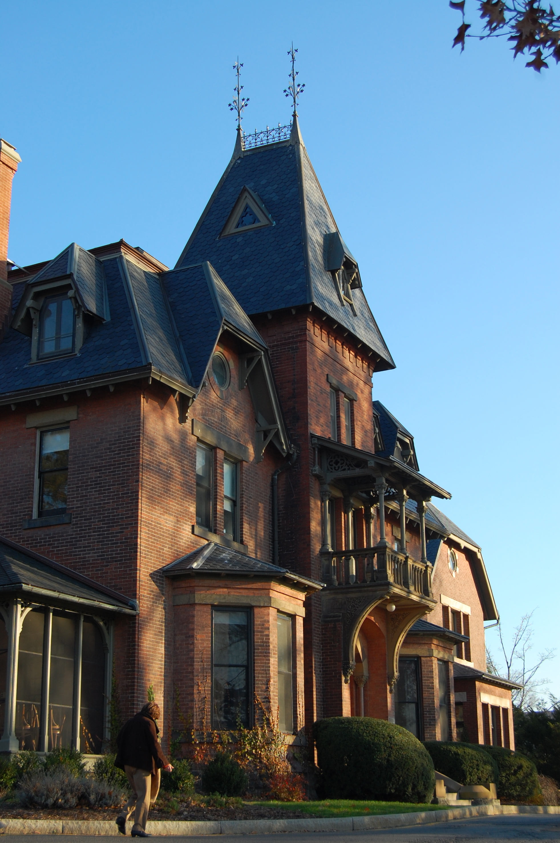 Gothic Mansion At Cornell University By AodhanKingkiller