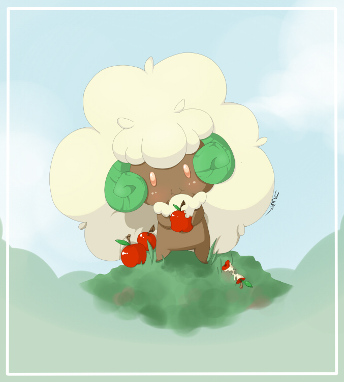 Whimsicott by juli3e