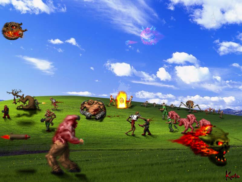 Más fanarts de Doom DOOM_Bliss_by_KurtzGB