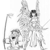 Shilla the Angel by mzjoe