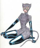 Catwoman by mzjoe