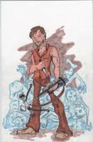 Daryl from Walking Dead by mzjoe