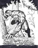Werewolf by mzjoe