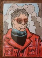 Wonder Man sketch card by mzjoe