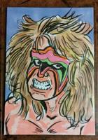 Ultimate Warrior by mzjoe
