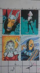 4 more random sketch cards by mzjoe