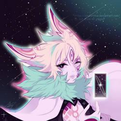 [OC] The Stars Are My Home by SkylarkKai