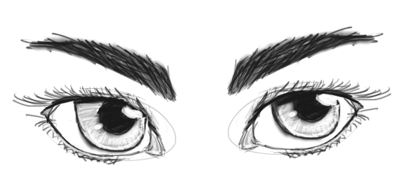 Eyes by dw4ever