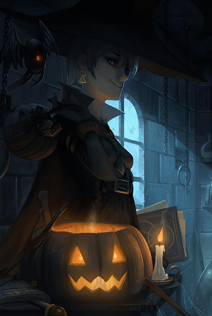 Halloween 2014 by yagaminoue