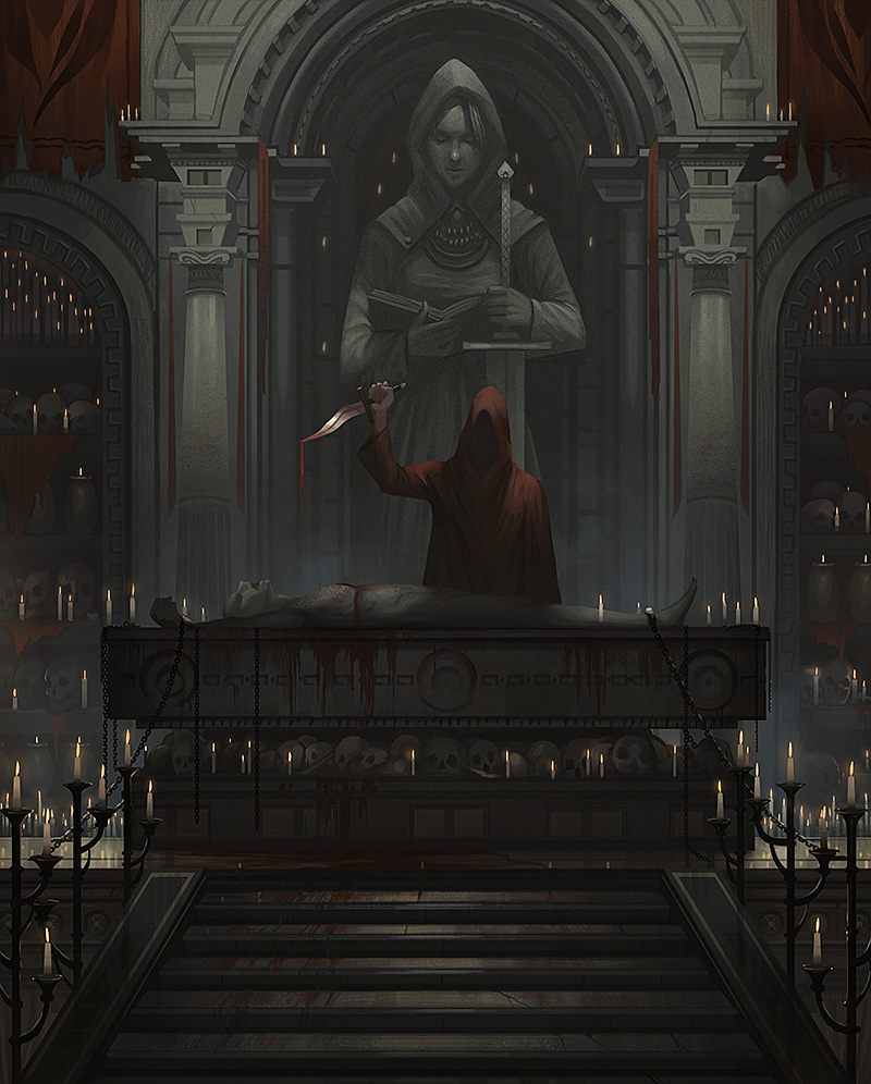 Blood Altar by yagaminoue