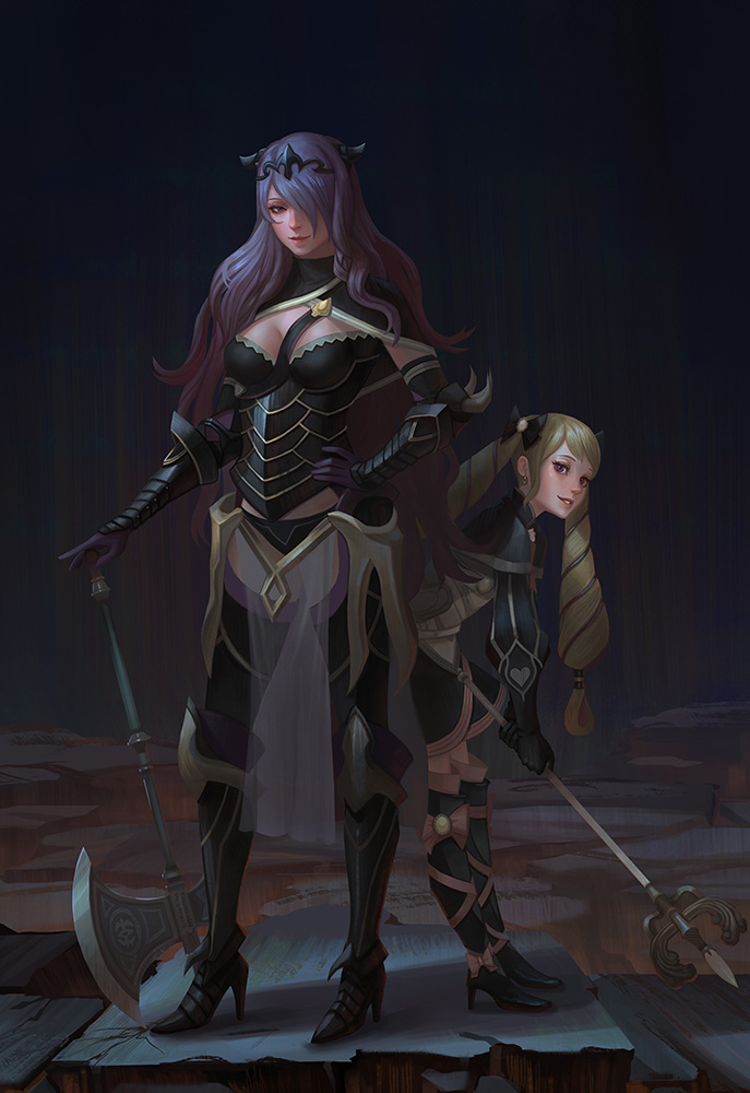 Nohr Sisters by yagaminoue