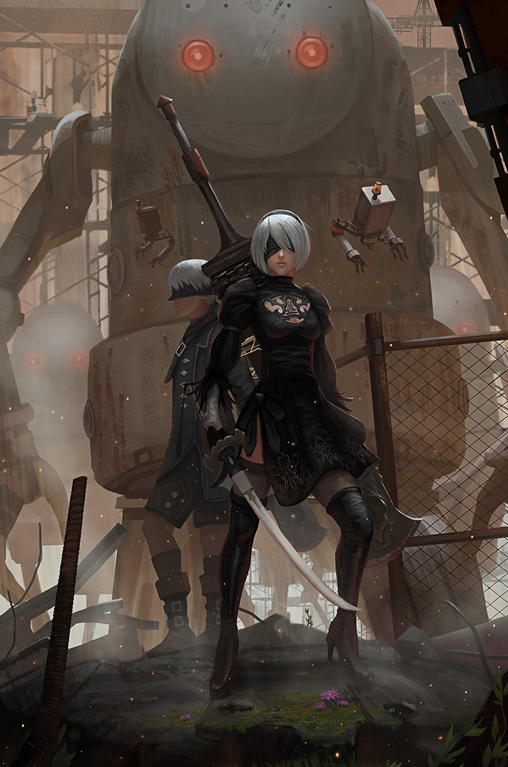 Nier Automata By Yagaminoue On Deviantart
