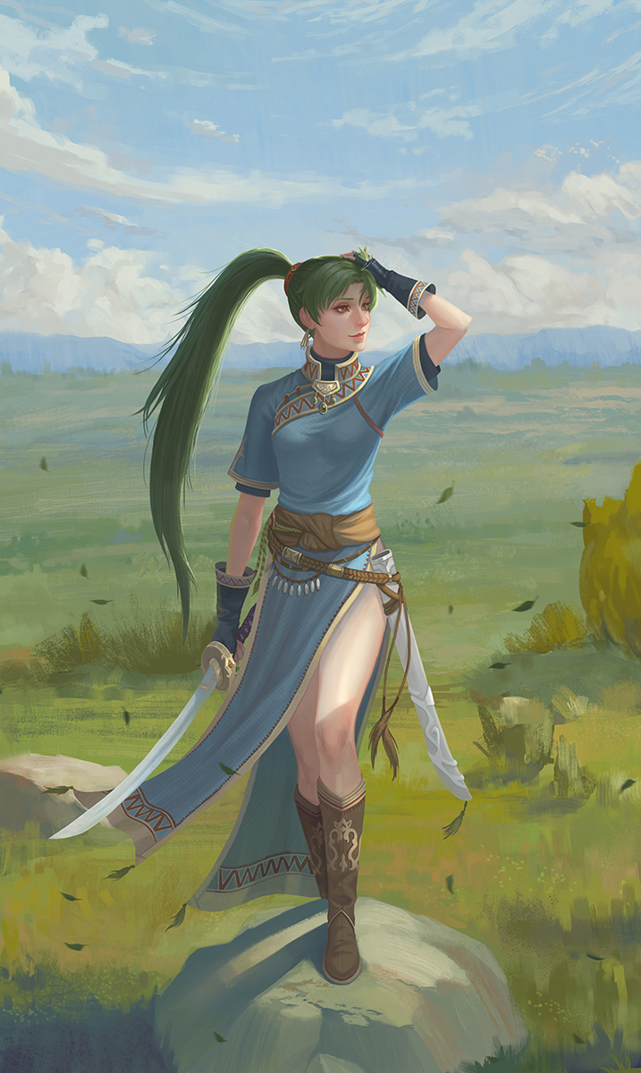 Lyn by yagaminoue