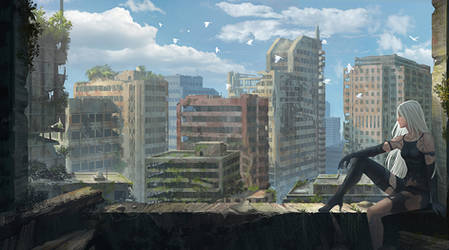 City Ruins by yagaminoue
