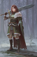 Winter by yagaminoue