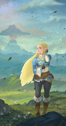 Breath of the Wild by yagaminoue