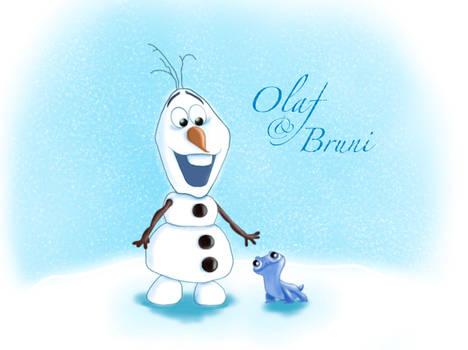 Olaf and Bruni