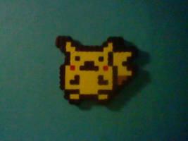 pikachu perler by irodude