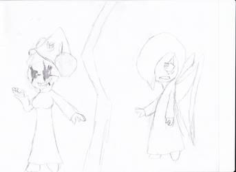 Anubis vs Dark Sara